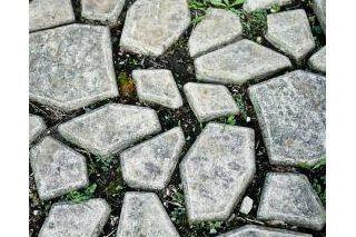 How to Make a Flagstone Concrete Mold | Backyard Ideas | Stepping