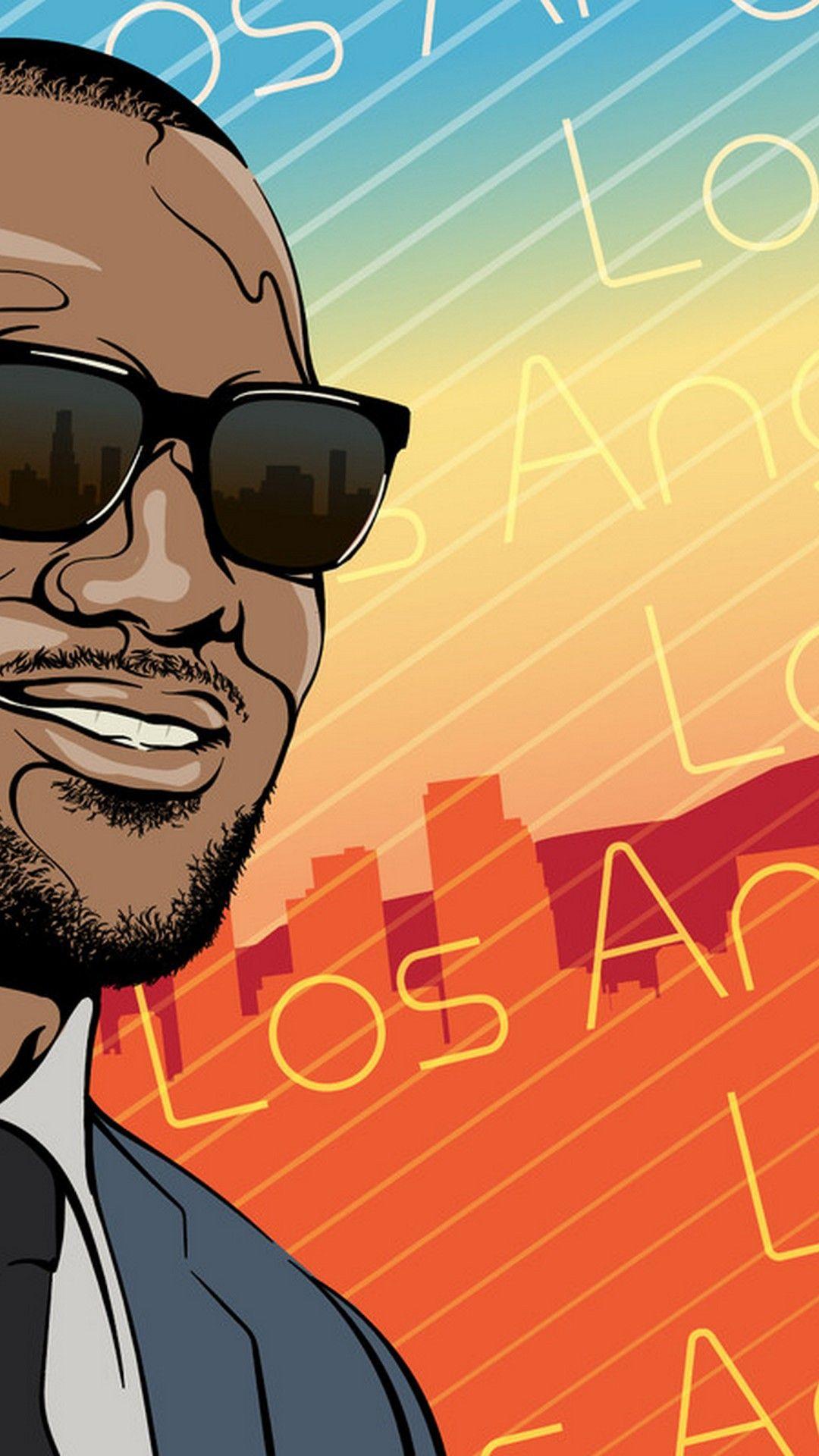 LeBron James LA Lakers iPhone 7 Wallpaper Lebron james