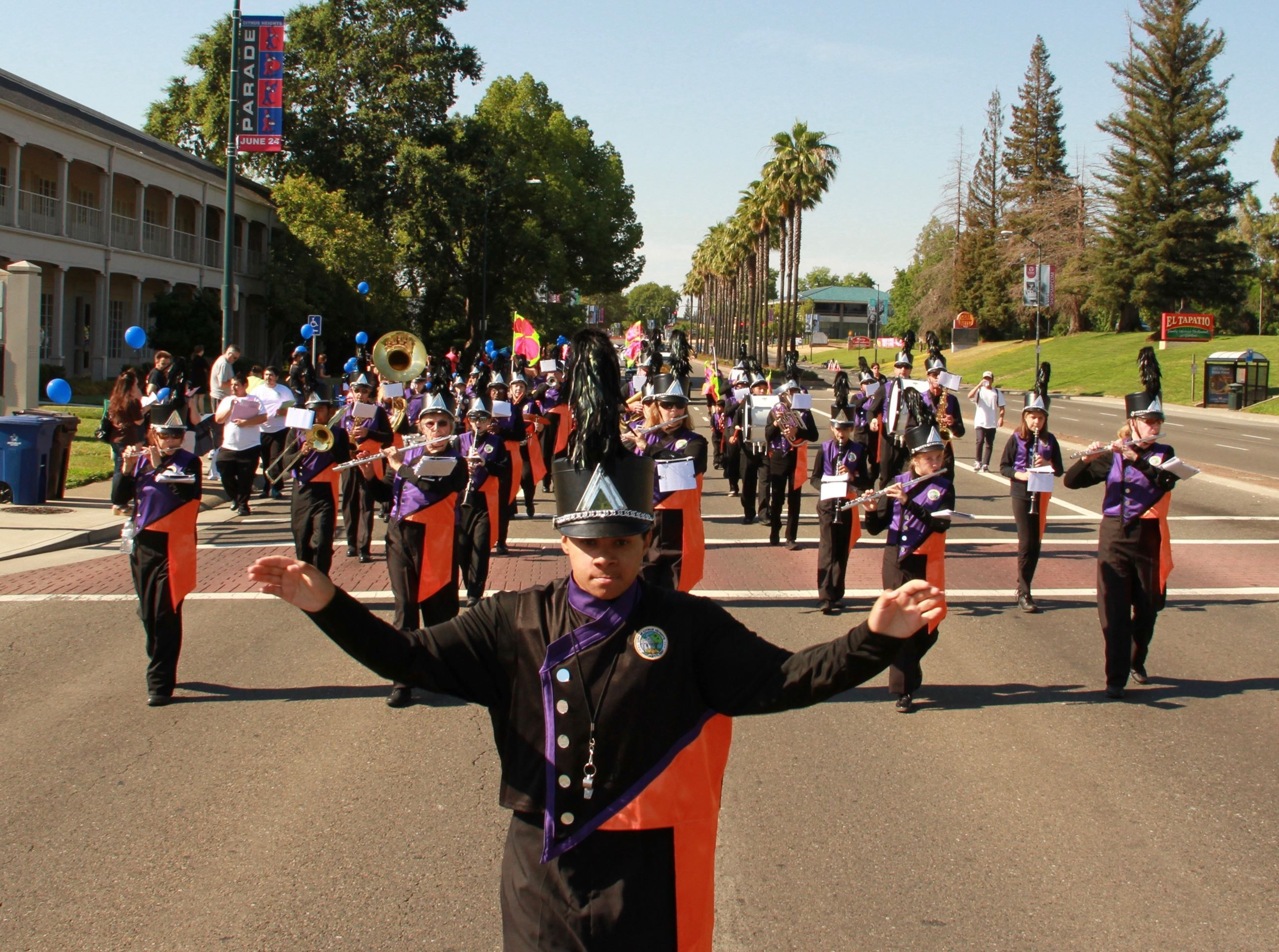 Citrus Heights Community Marching Band In