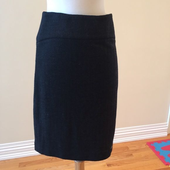 Banana Republic suit skirt Dark gray in excellent condition Banana Republic Skirts Midi