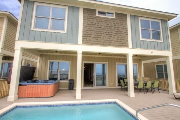 6 bedroom house rental in panama city florida usa beachfront holiday fin