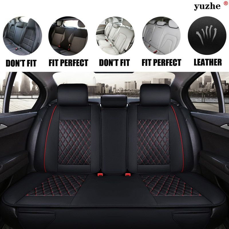 BLACK 130 TAILORED /& WATERPROOF REAR SEAT COVERS ISUZU D MAX 2012 ON