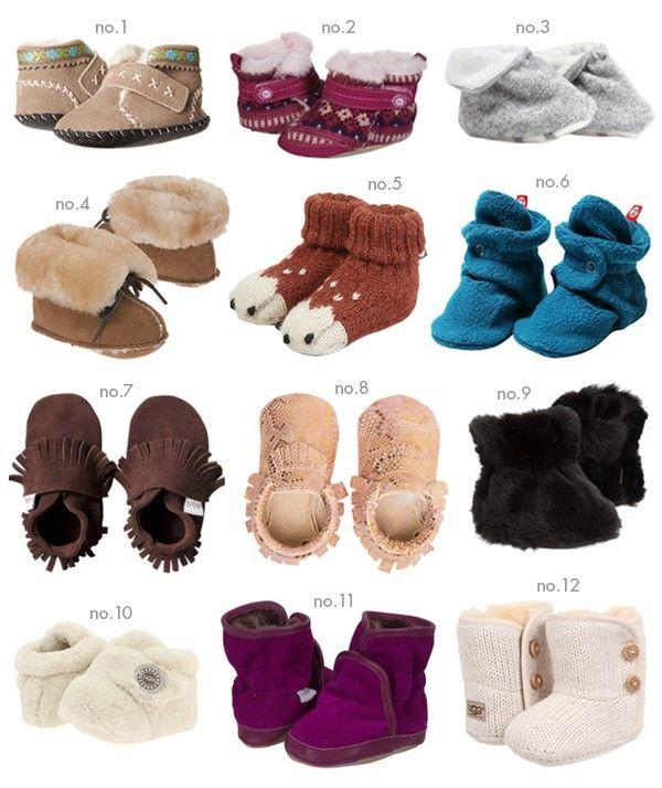 Baby Girl Winter Bootie Roundup | Hellobee