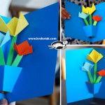 POP-UP+Flower+Card