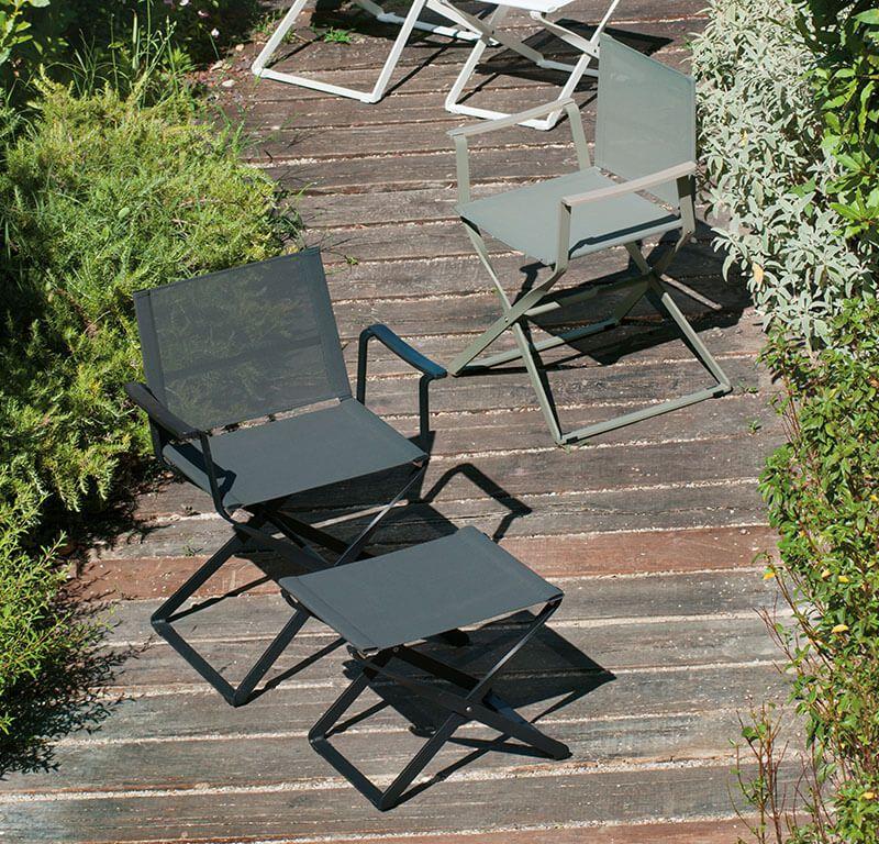 Missoni Home Outdoor Folding Chair Regista: Director's Chair - Director's Chair - Ciak EMU