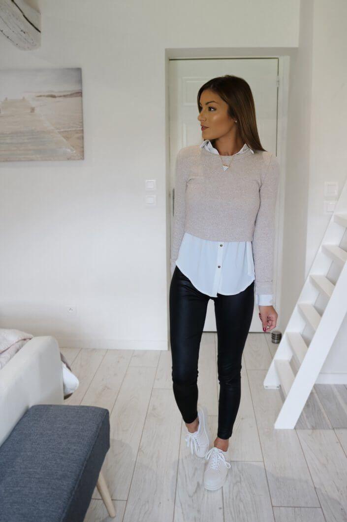 La chemise blanche, l'indispensable mode | Sam Nounette -   style Vestimentaire chemise