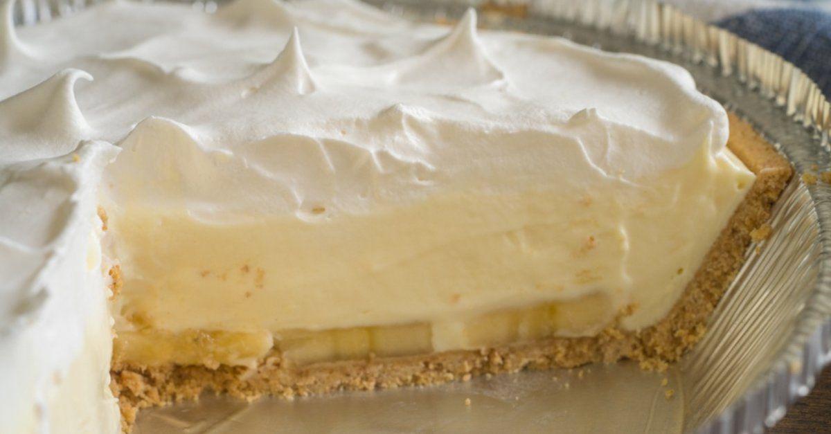 Banana Cream Pie Recipe Yummly Recipe Banana Cream Pie Recipe Easy Banana Cream Pie Banana Cream Pie Recipe With Pudding