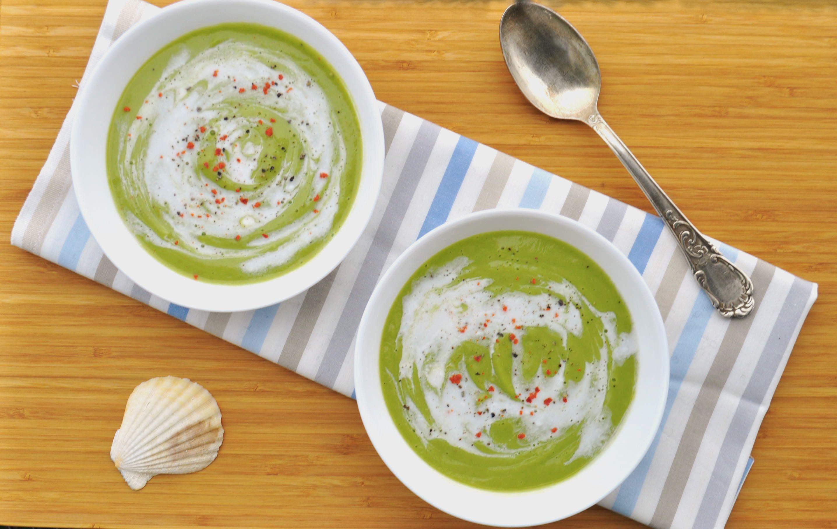 Vegan Broccoli and Lime Soup