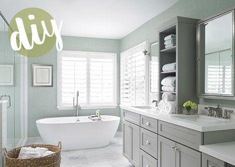 DIY Bathroom Elements Bathroom ideas Pinterest Best Spaces ideas