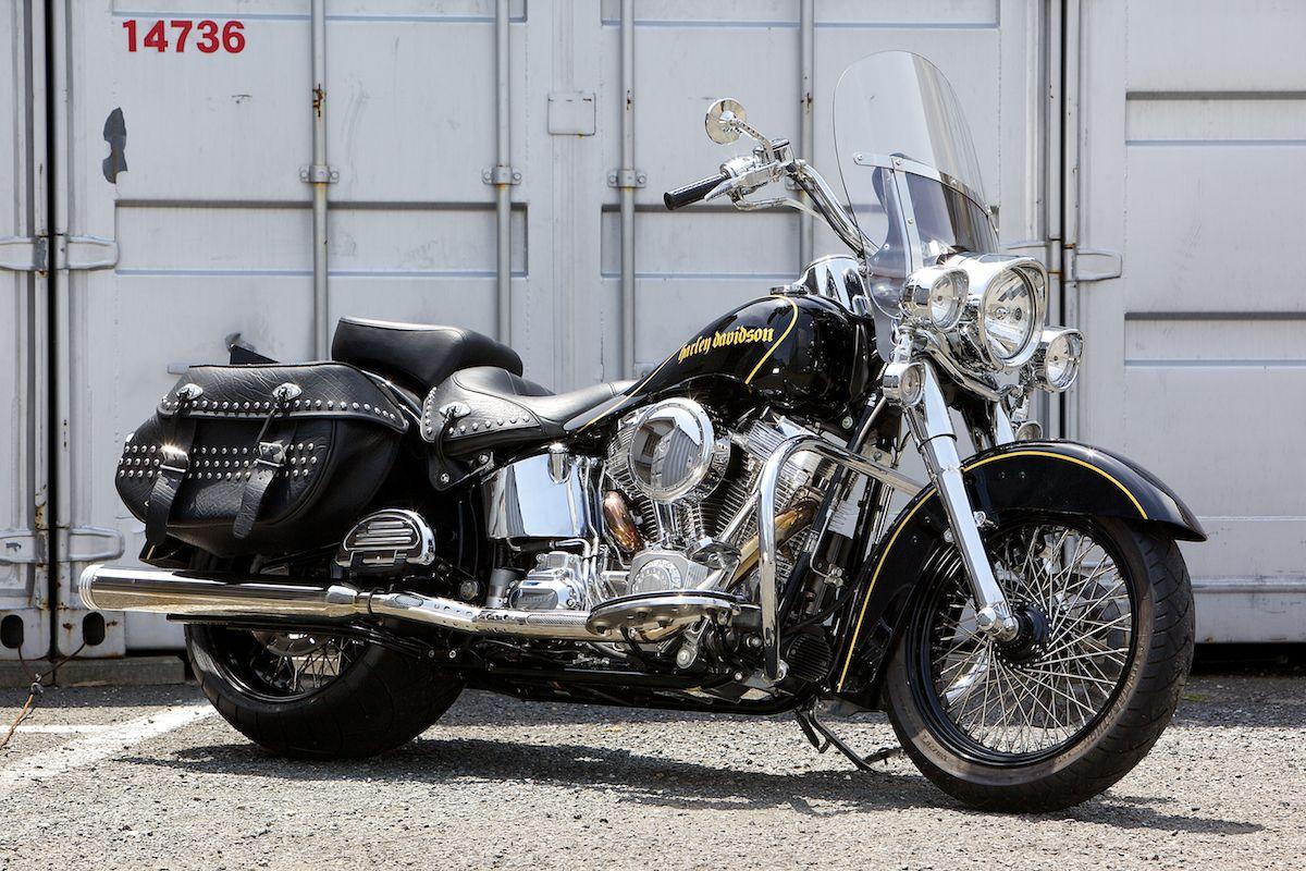 Harley 2012 Heritage Softail 300 Wide Tire Custom [ELEANOR]