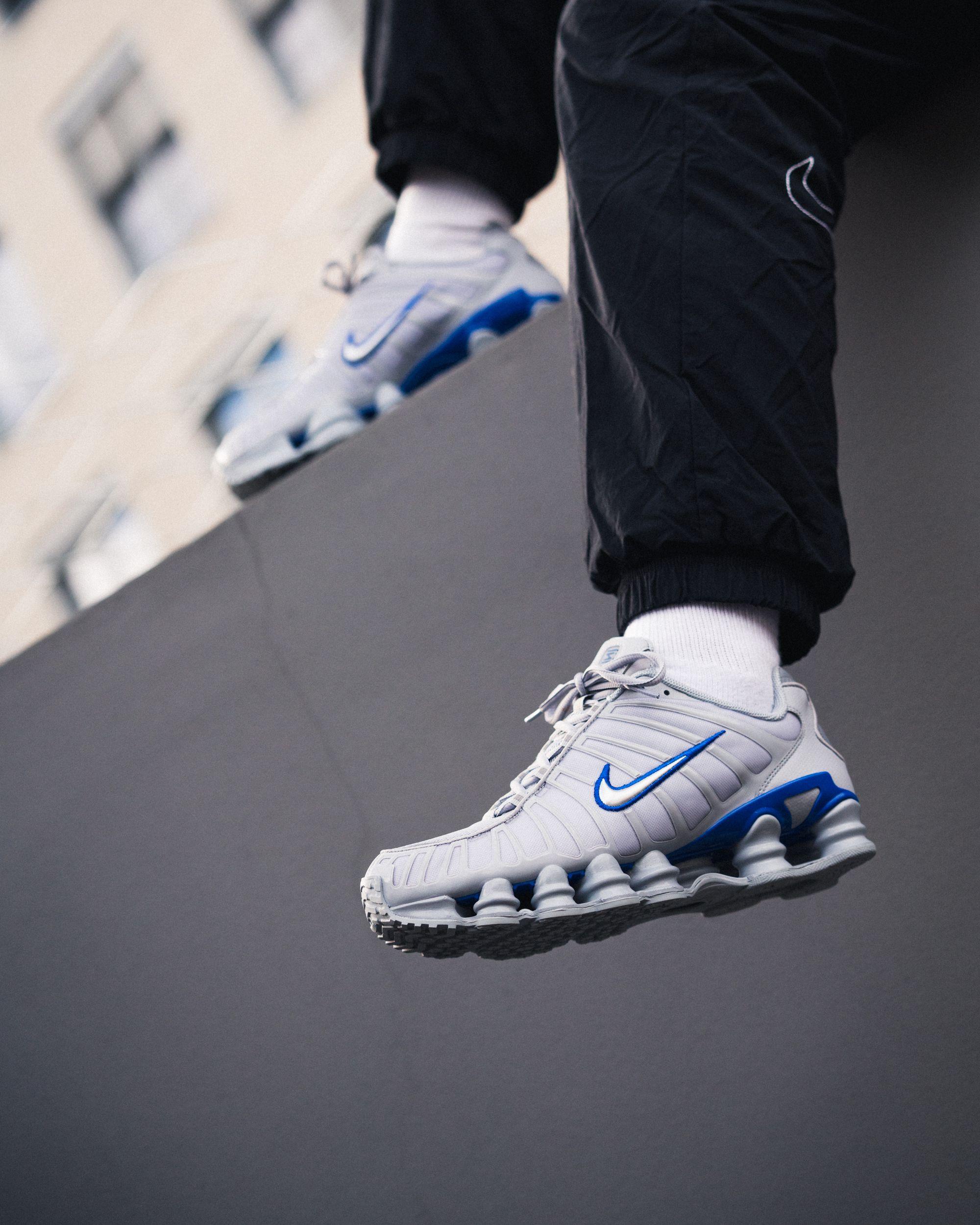 low blue silverracer SHOX greymetallic TL wolf Sneaker shtQdr