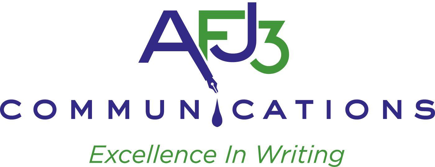 AFJ3 Communications Logo - Writer, Reporter