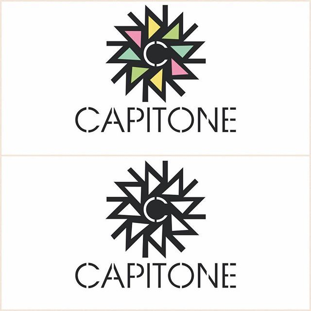 We are getting ready! Help us by telling which one you like more 'coloured or black & white'? Comment or DM.. ❓🤔 #logo #capitone #blog #interiors #interiordesign #interiorstyle
