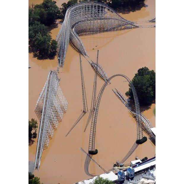 Floods In Atlanta, Georgia And Alabama