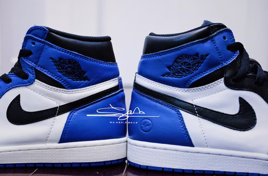 The Air Jordan 1 Retro High OG Game Royal Could Be Fragment 1's Little  Brother • KicksOnFire.com