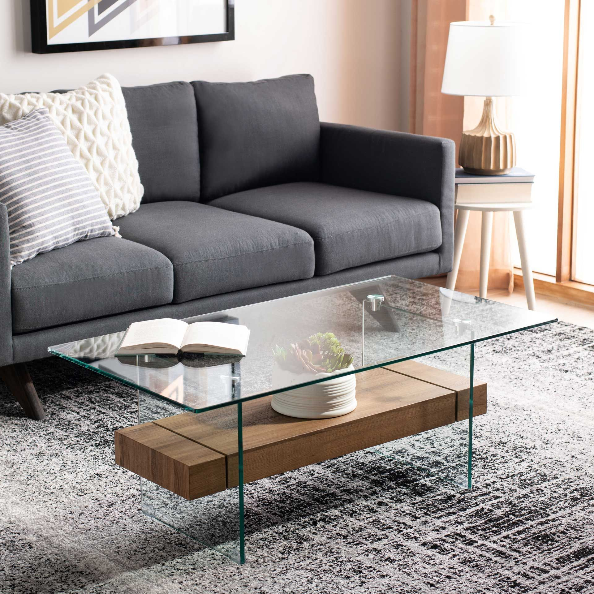 Karis Glass Coffee Table Glass Natural Brown In 2021 Coffee Table Modern Glass Coffee Table Glass Coffee Table [ 1920 x 1920 Pixel ]