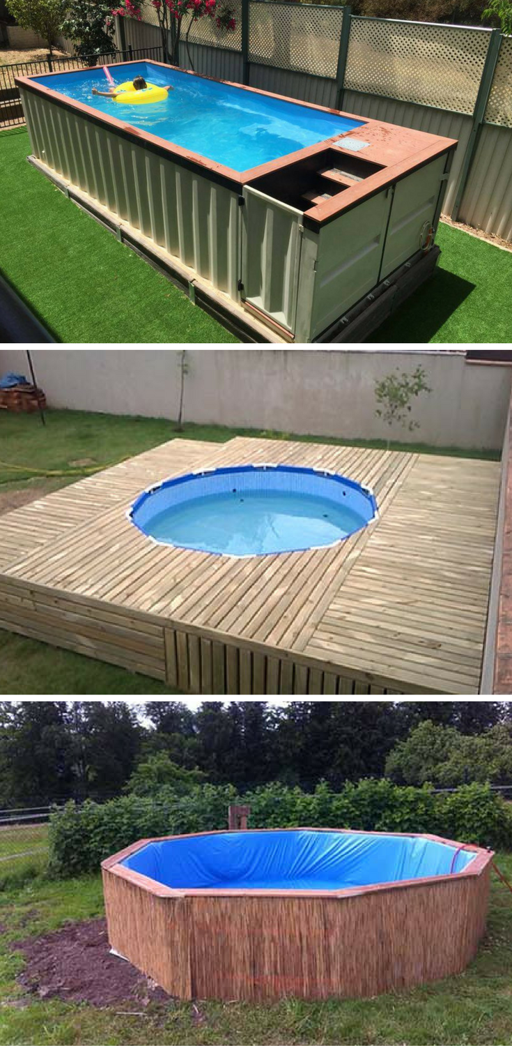 Backyard Swimming Pool 7 Diy Swimming Pool Ideas And Designs From Big Builds To Weekend