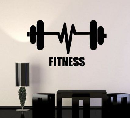61 Best Ideas Fitness Design Interior Gym Wall Decals #fitness #wall