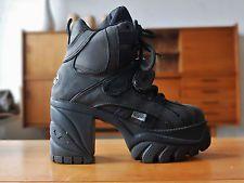 finest selection 874ea 227f8 BUFFALO Boots Plateau Uk 5 Schuhe Stiefel Gr.38 Schwarz True ...