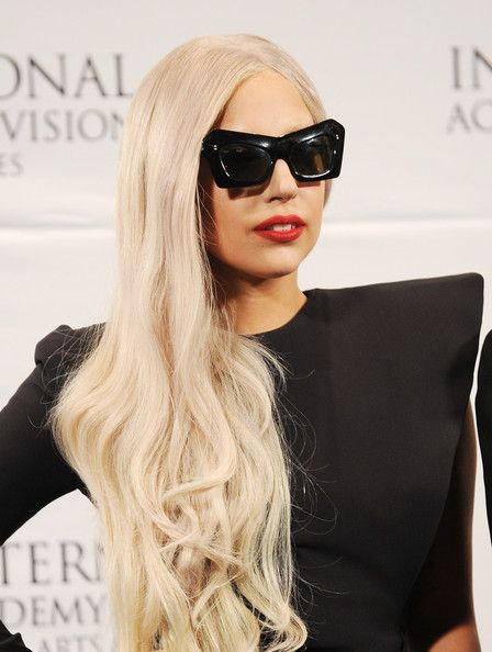 Lady Gaga - Nespresso Press Room At The 39th International Emmy Awards