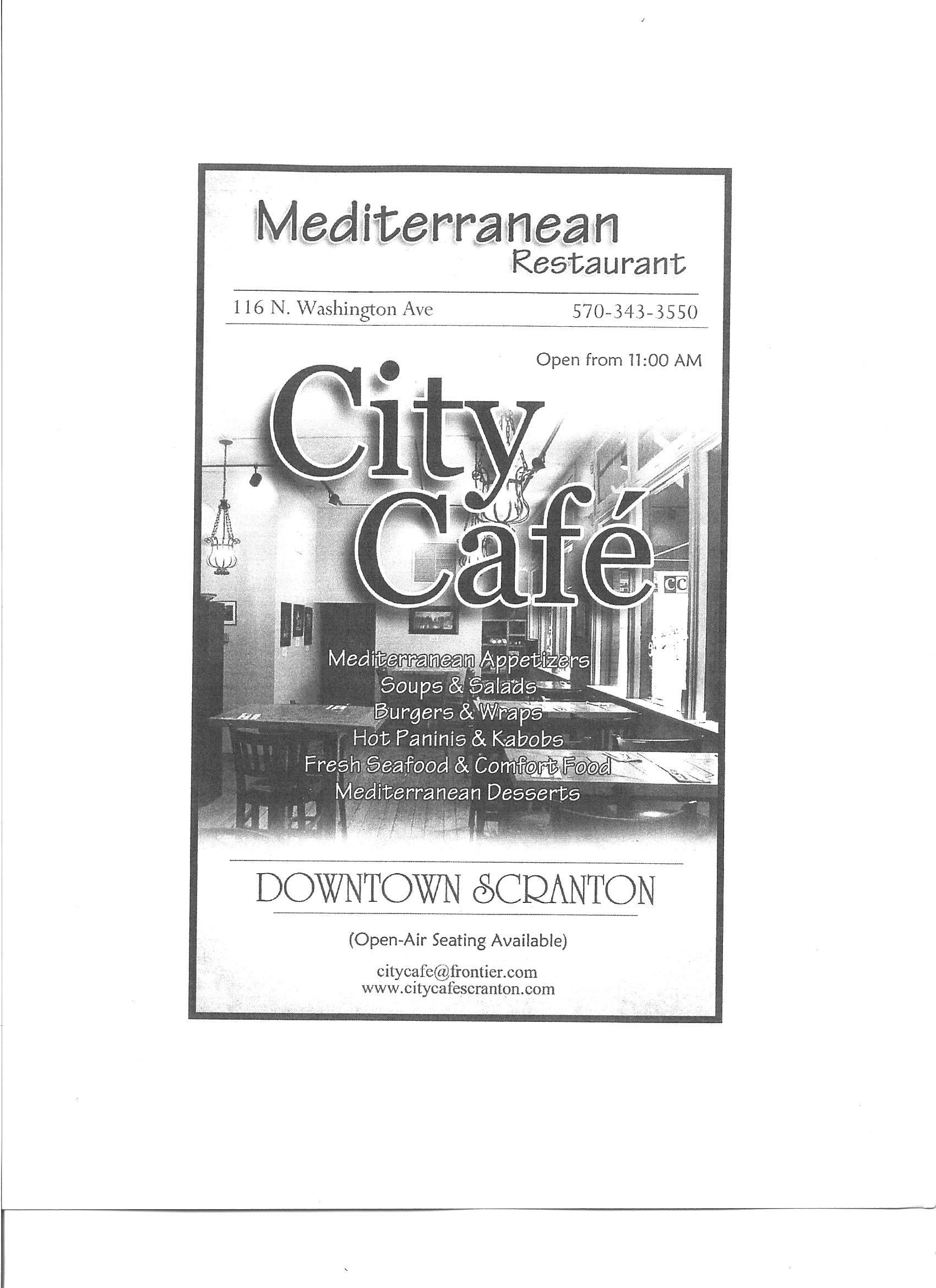 City cafe 116 n washington ave scranton pa httpwww