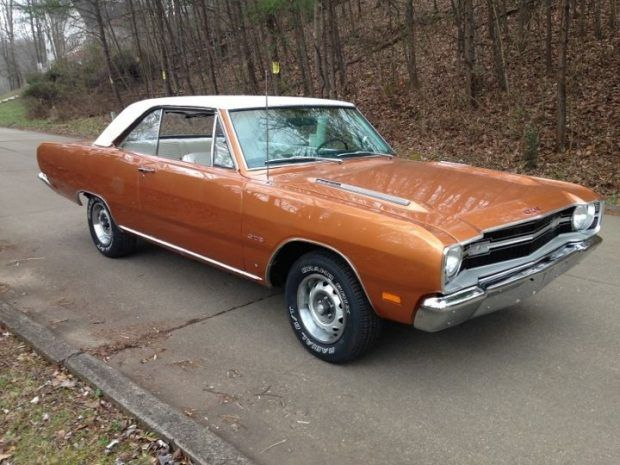 Fresh Copper Restored 1969 Dodge Dart Gts 4 Speed Classic Cars