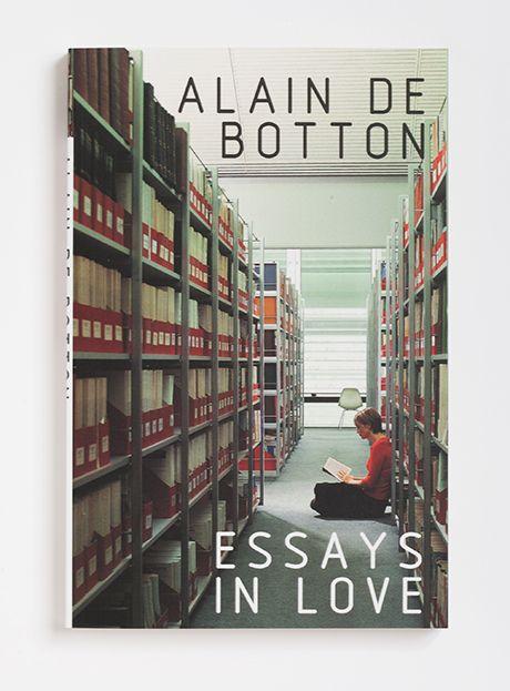 Essay In Love Alain De Botton Books