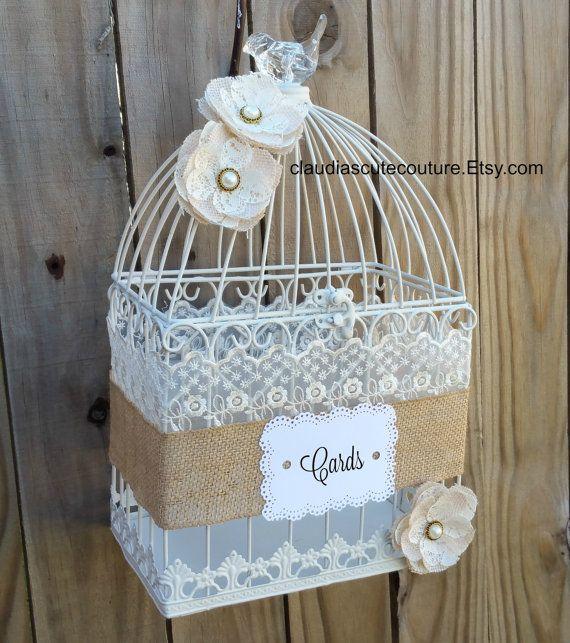 Wedding Altar Quotes: Wedding Birdcage Card Holder Wedding Card By