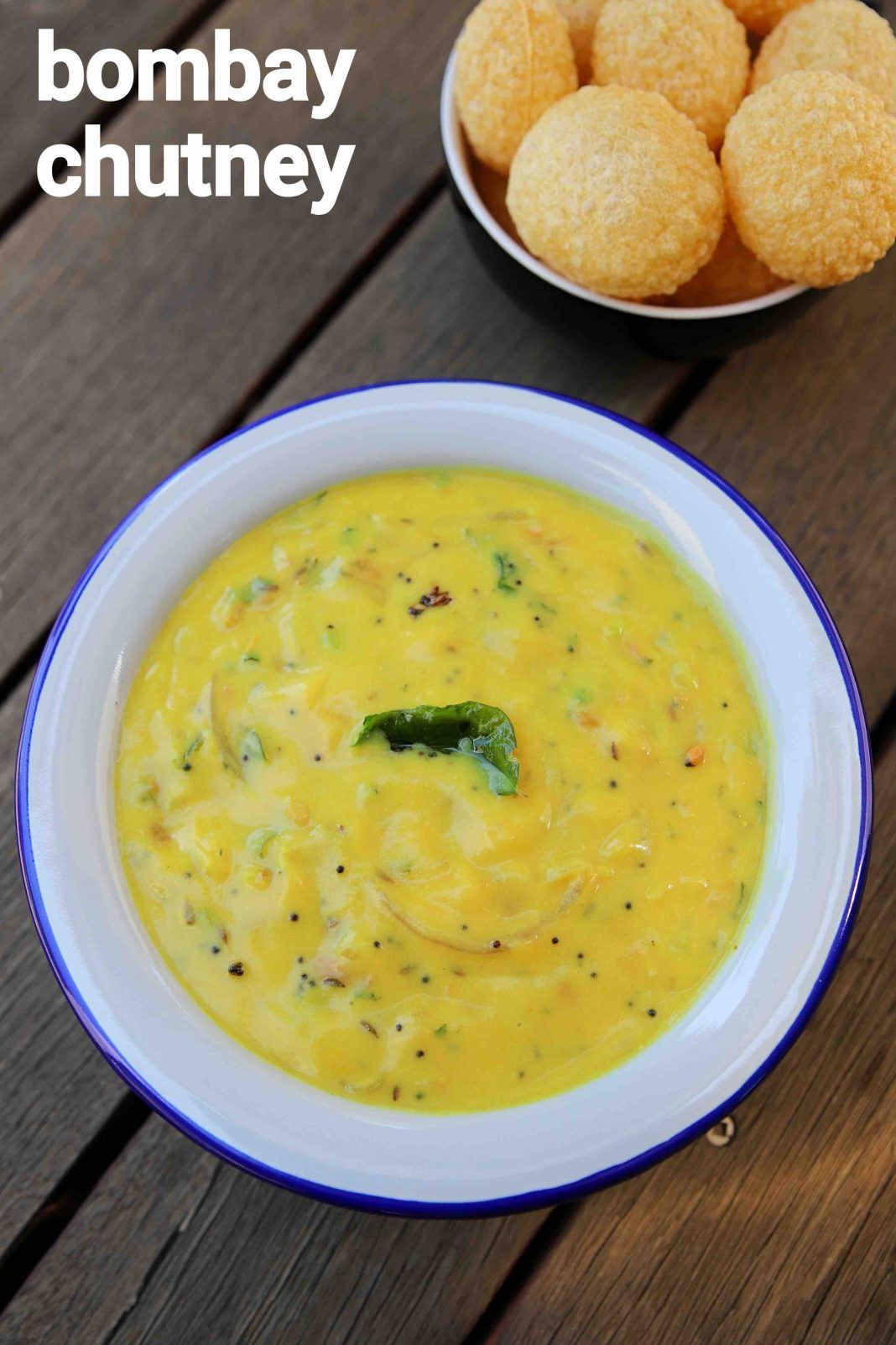 bombay chutney recipe | besan chutney recipe for poori ...