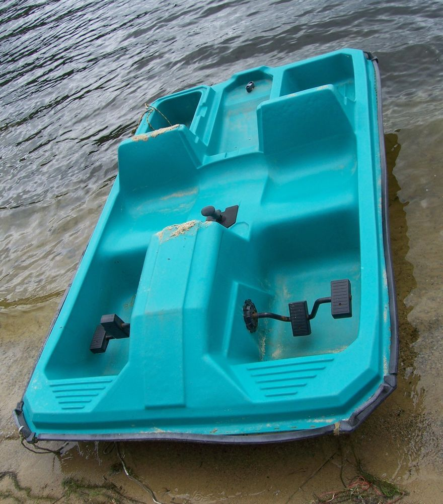 2 Person Pedal Boat Paddle Boat Decent Used Cond Local Pick Up Only No Ship Unbranded Pedal Boat Paddle Boat Paddle Boat For Sale
