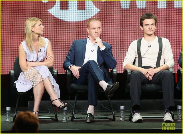 Celeb Diary: Claire Danes, Damian Lewis & Rupert Friend @ 2013 Summer Television Critics Association tour
