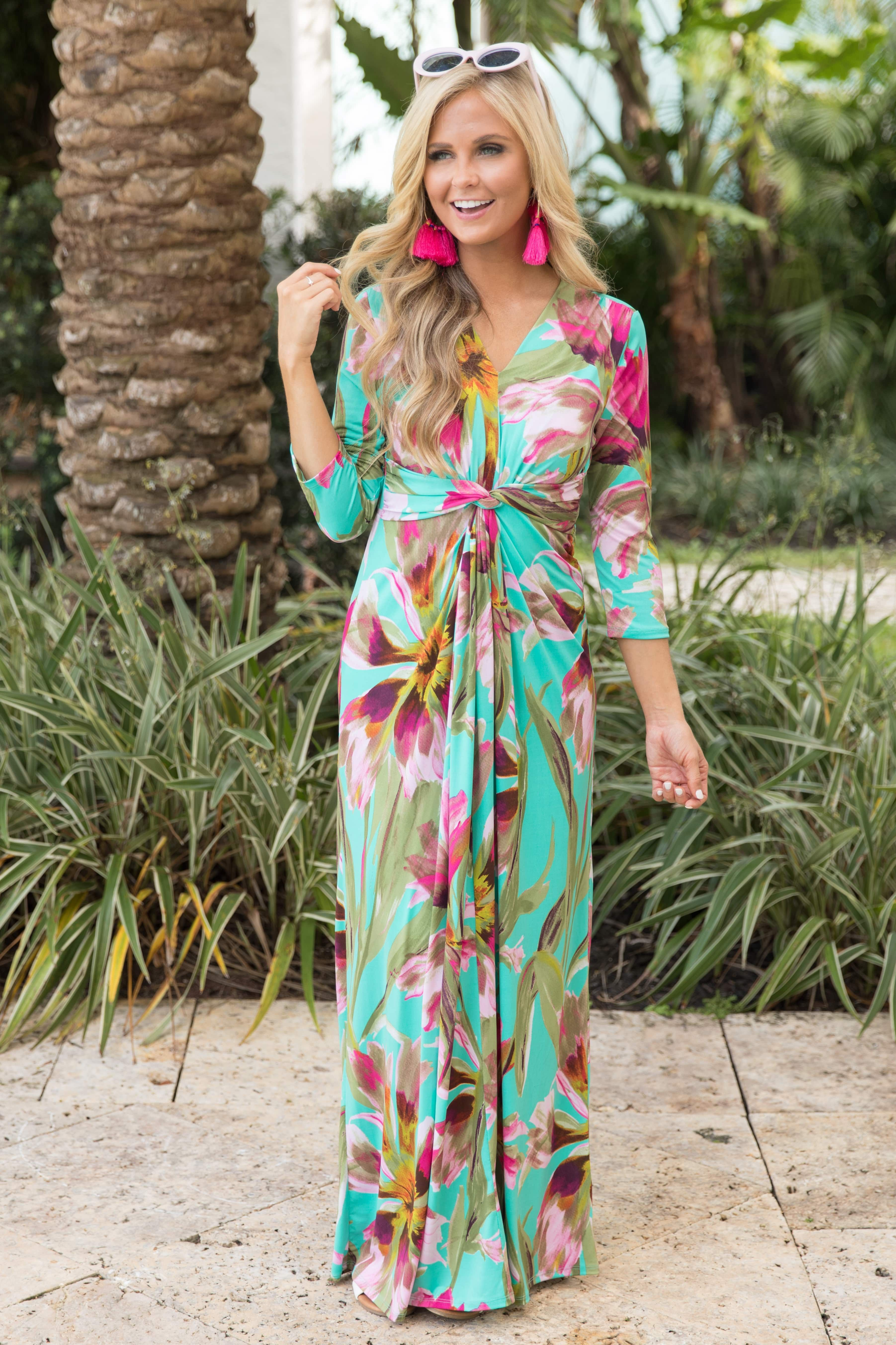dc0d0fc9def6 This gorgeous maxi dress is made for nights in the Caribbean ...