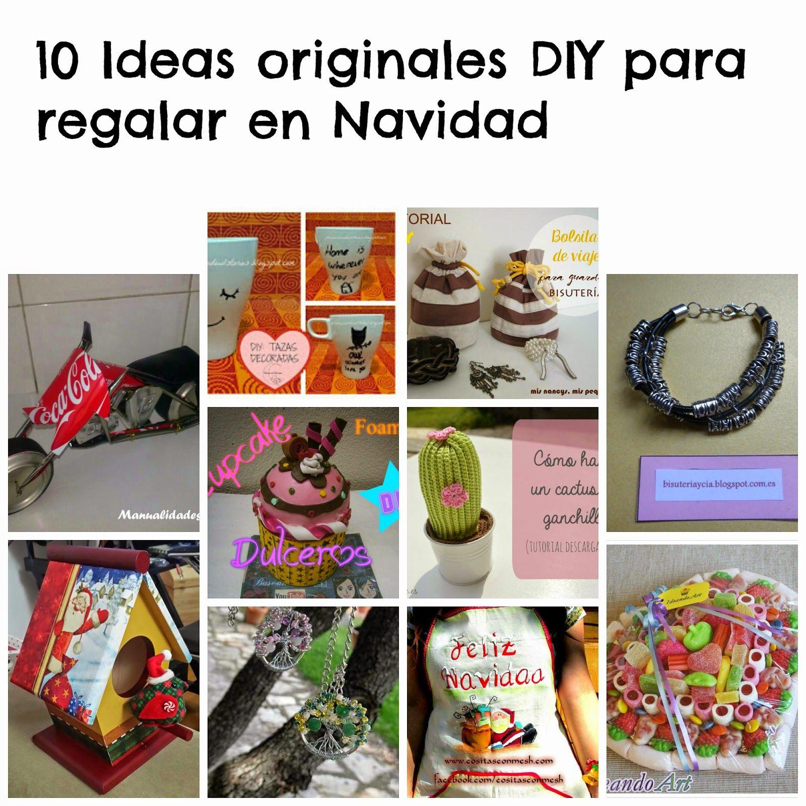 Con collares y a lo loco 10 ideas originales diy para - Ideas originales para navidad ...