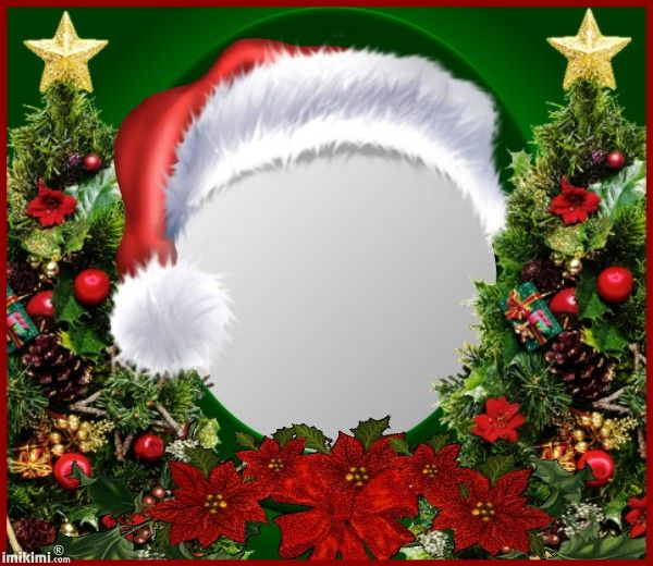 Merry Christmas! Put your face in this frame for fun. Click through ...