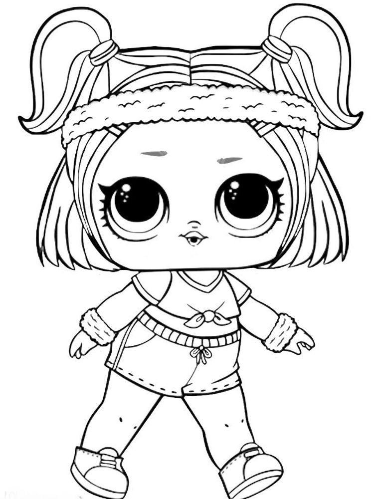 Lol Dolls Pet Lol Dolls Cartoon Coloring Pages Coloring Pages