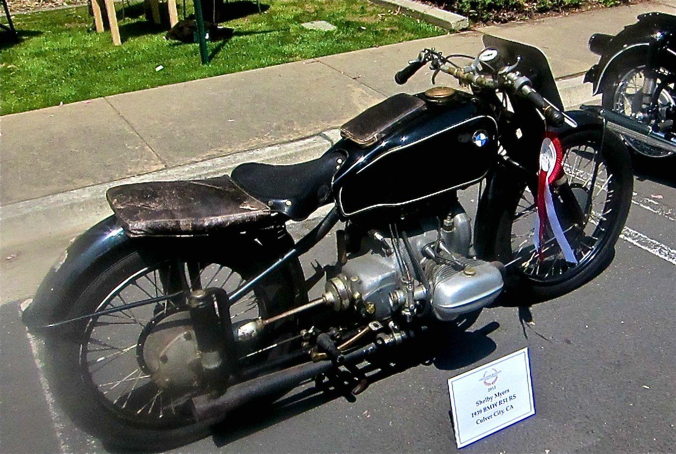Vintage Bmw Motorcycles Google Search Pinterest Twin Bikes