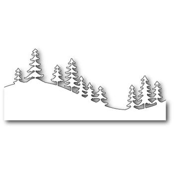 Pines At Simon Says Stamp In 2020 Memory Box Christmas Tree Printable Crafts