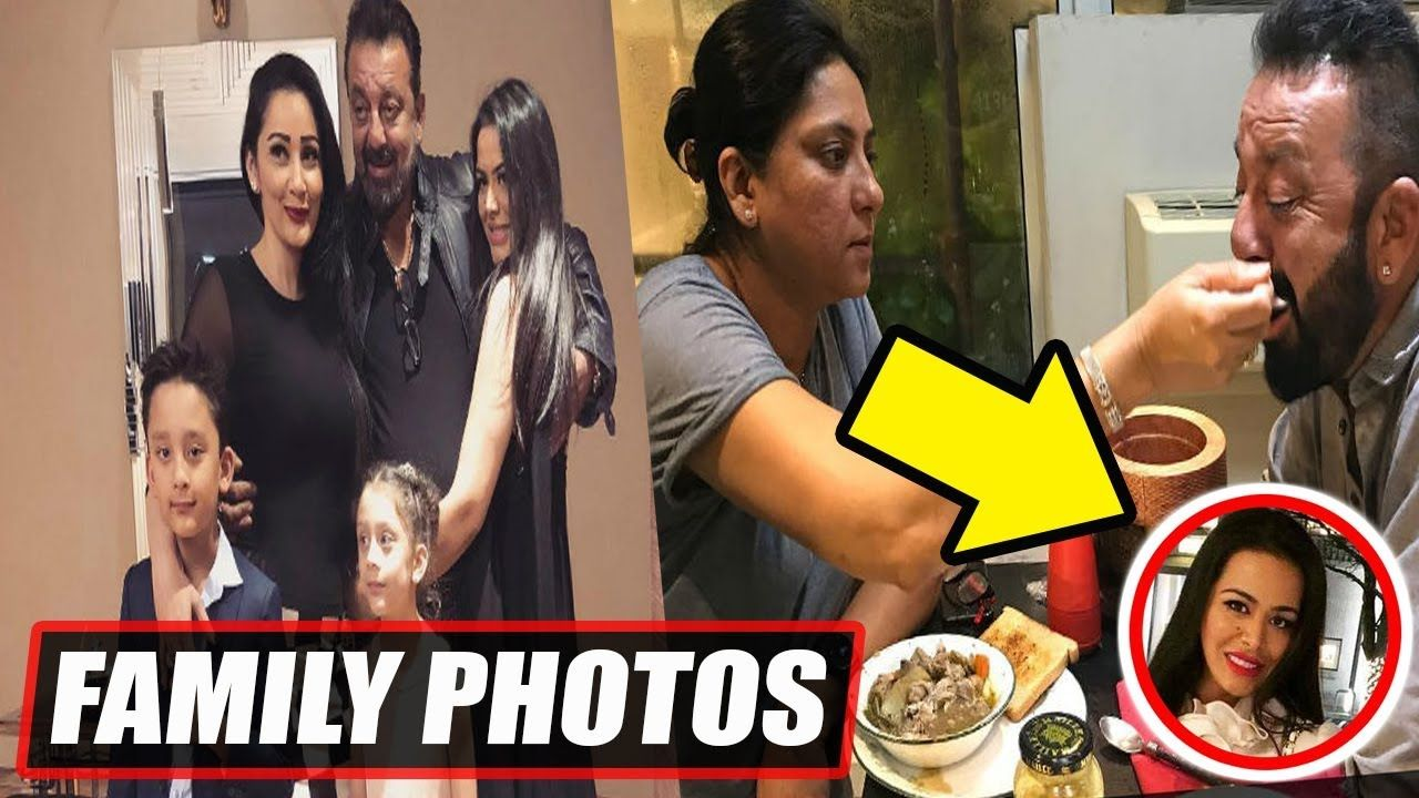 Sanjay Dutt Family Photos With Parents | Sisters | Wife ...