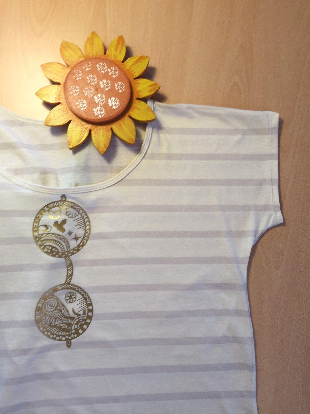 La Alizéa Shirt von Schnittgeflüster mit Plotterdatei von Fusselfreies
