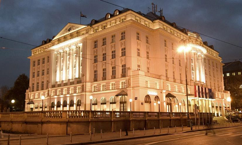 To me, Zagreb's most beautiful hotel - The Regenet Esplanade. #croatia #hotel #regentesplanade #zagreb