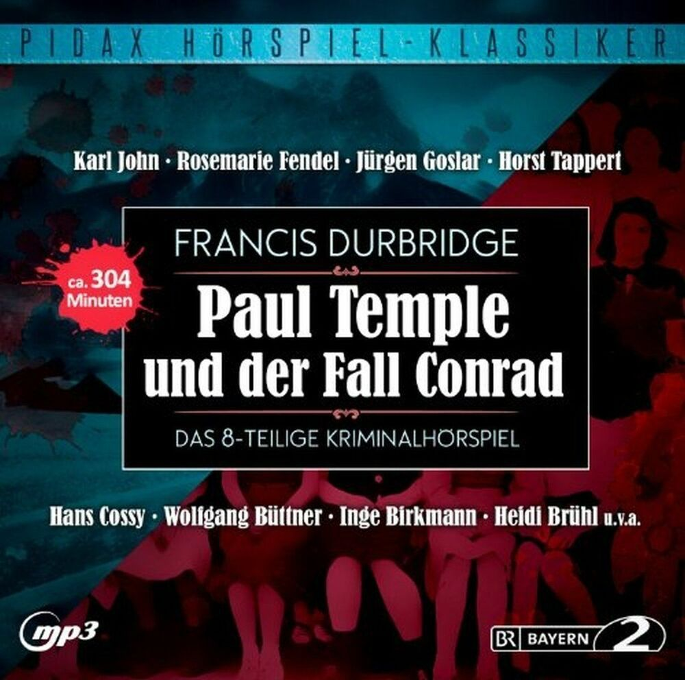 Paul Temple und der Fall Conrad - Hörspiel - Pidax mp3