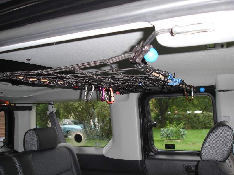 Interior Overhead Storage Net Honda Element Owners Club Forum