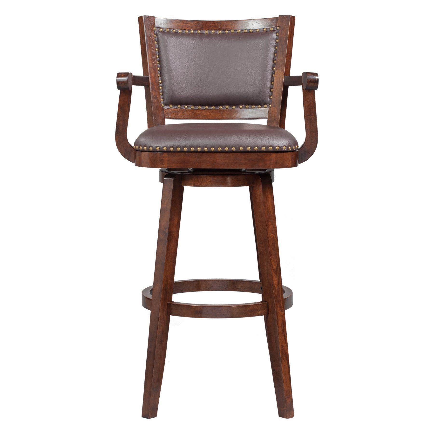 Boraam Broadmoor Swivel Extra Tall Barstool 51934 Bar Stools