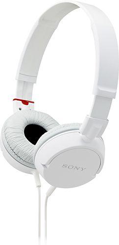 Over The Ear Headphones Sony Headphones White Headphones Stereo Headphones