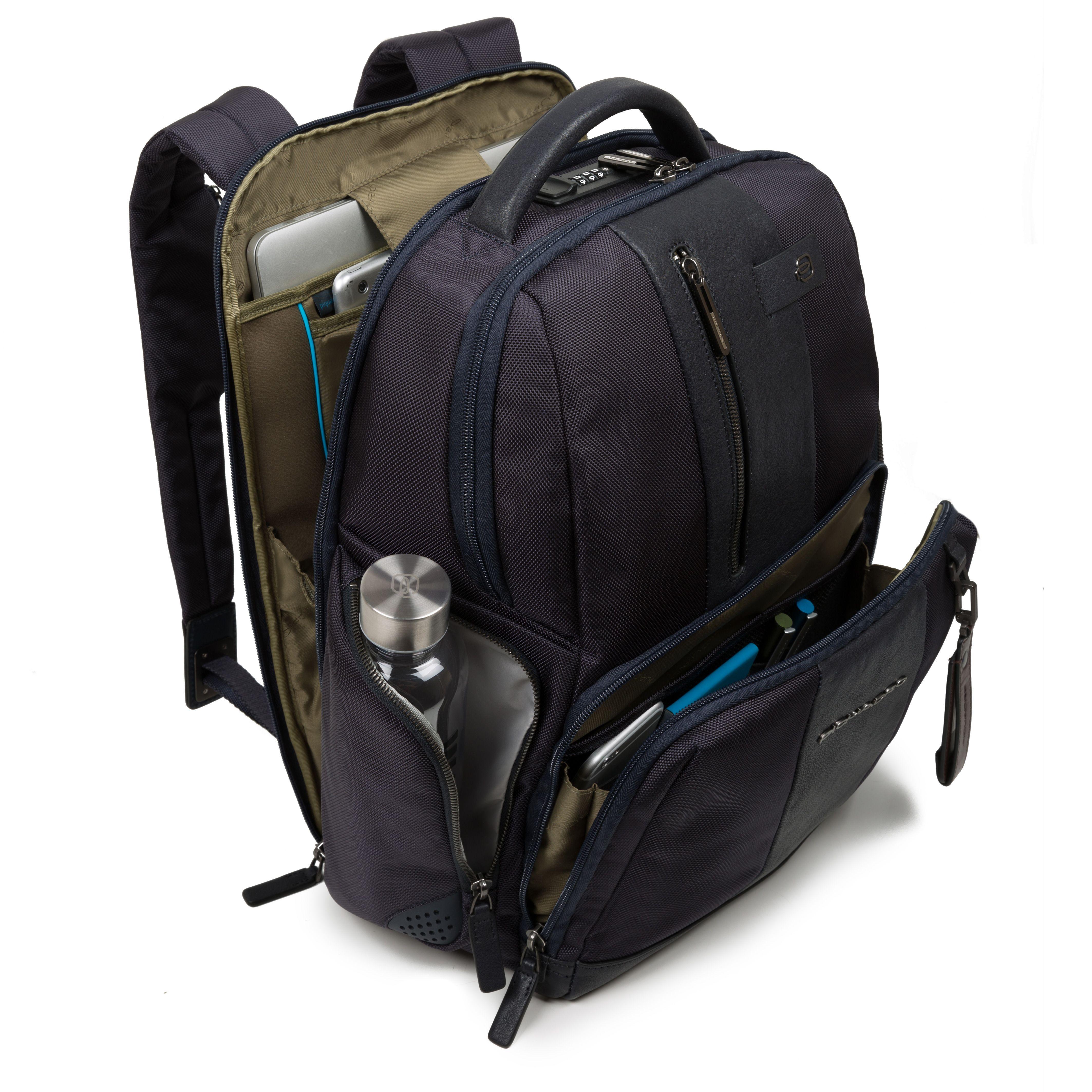 e9bbdbbbba Piquadro - Zaino Piquadro linea Brief, fast-check porta PC/iPad®Air ...