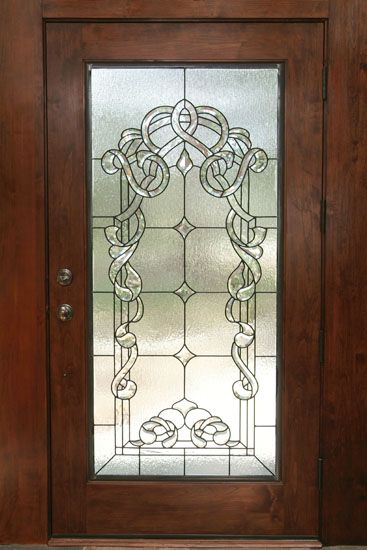 Beveled Leaded Glass Door Stained Glass Designs