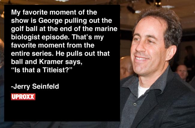 Interview Jerry Seinfeld Loved It When Fake Marine Biologist