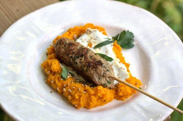 Lammhackspiesse Karottenpuree Sweet And Sour Pinterest