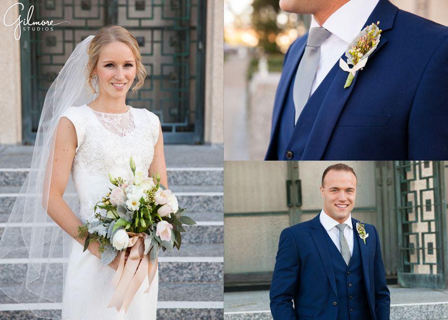 Samantha + Austin LDS Wedding