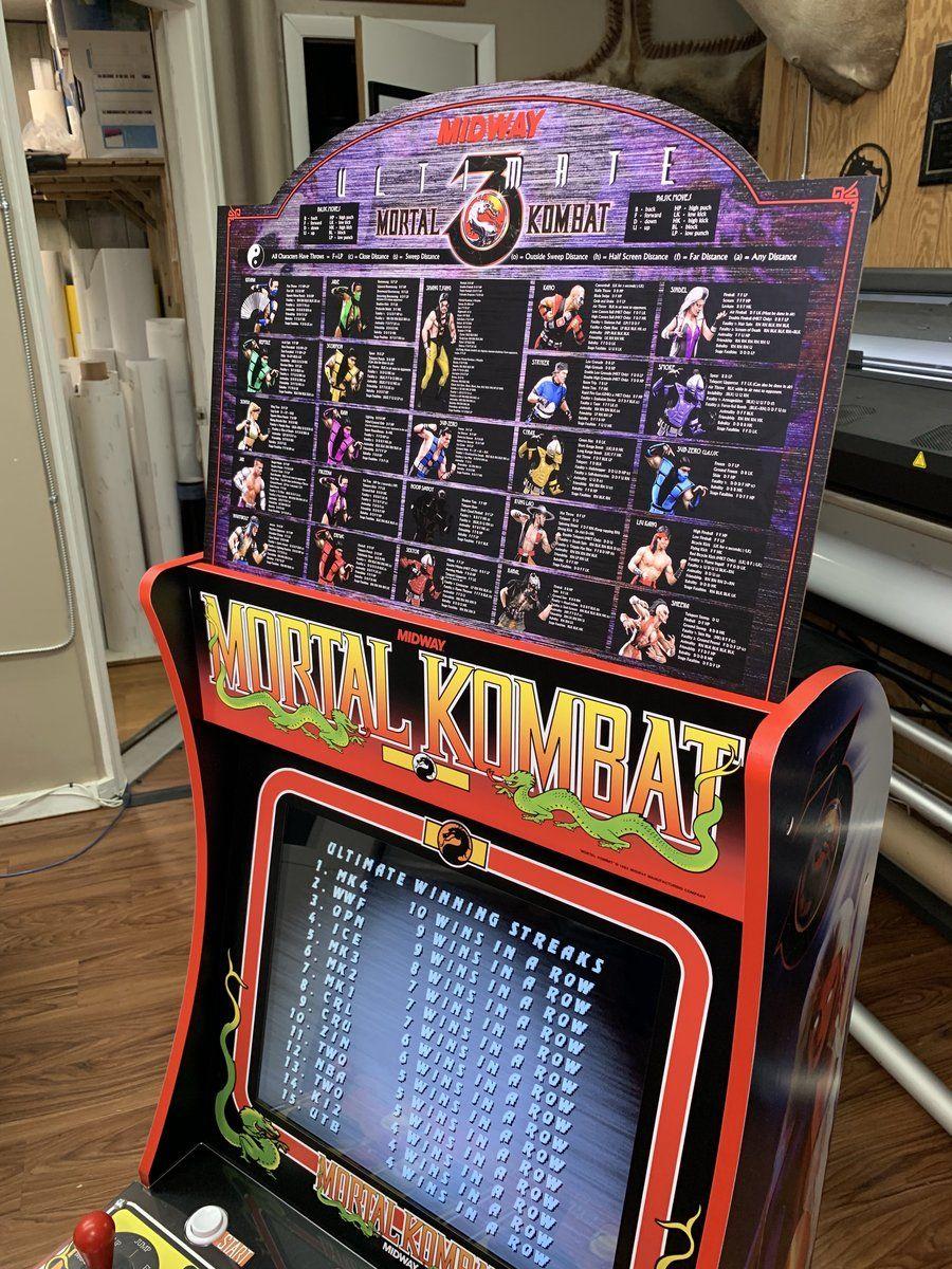 Mortal Kombat 3 Topper for Arcade 1up | arcade